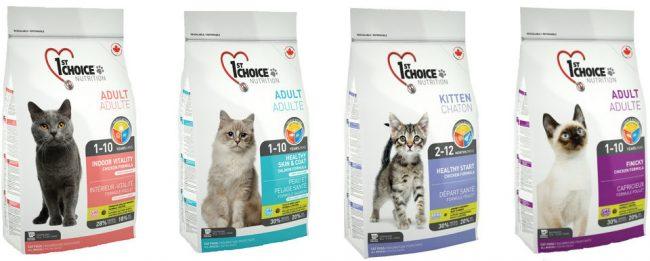 Корм для кошек 1st Choice - отзывы