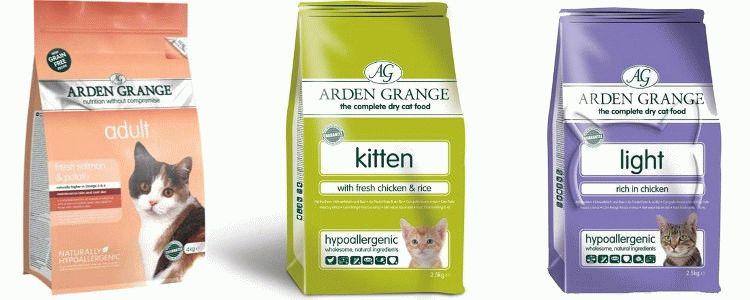 Корм Арден Гранж для кошек отзывы