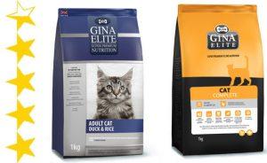 Корм для кошек Gina (Джина): обзор, отзывы и цены