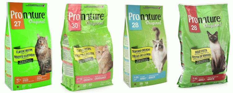 Корм для кошек Pronature Original отзывы