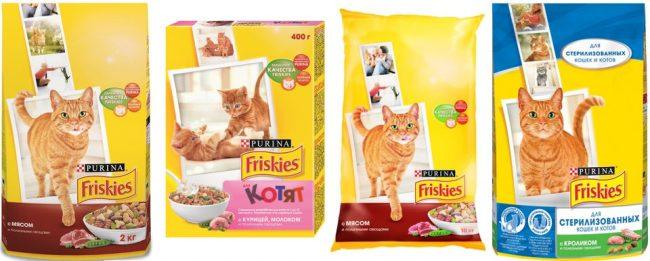 Корм Фрискис для кошек отзывы