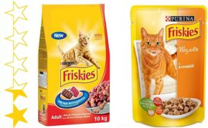 Корм для кошек Фрискис - отзывы