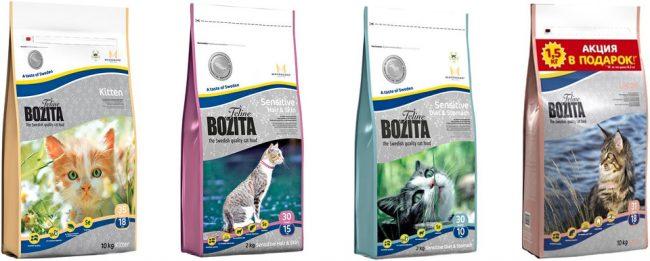 Корм для кошек Bozita отзывы
