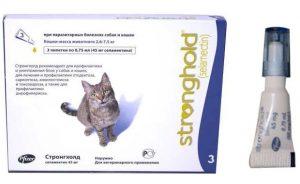 Стронгхолд для кошек - инструкция по применению