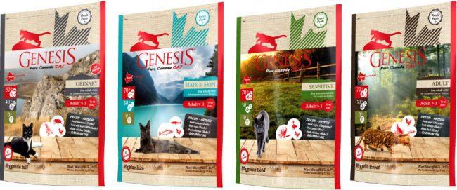 Корм для кошек Genesis Pure Canada - отзывы