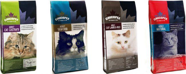 Корм Chicopee для кошек - отзывы