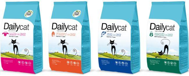 Корм Daily Cat - отзывы