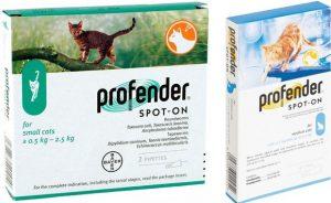 Профендер для кошек - инструкция