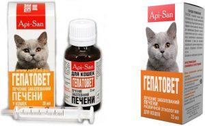 Гепатовет для кошек - инструкция