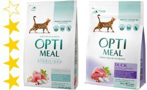 Обзор корма для кошек Optimeal