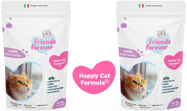 Сухой корм для кошек Friends Forever