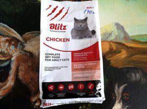 Отзывы о корме для кошек Блиц