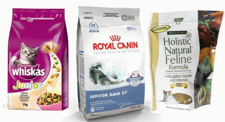 Класи кормів для котів