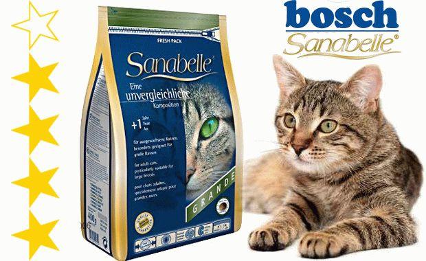 Корм для котів Бош Санабель відгуки