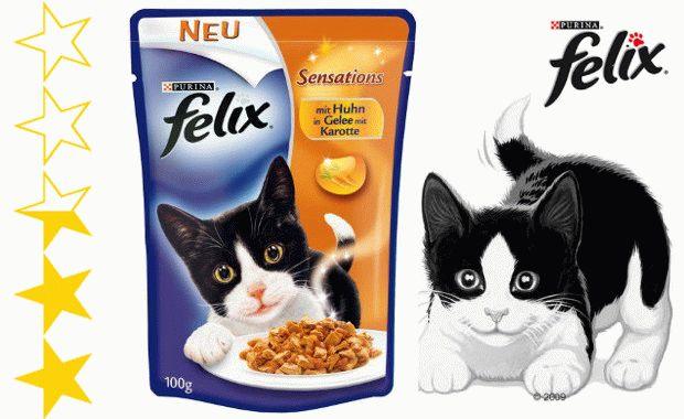 Корм для котів Фелікс
