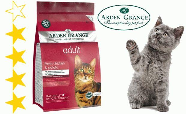 Корм Arden Grange для котів