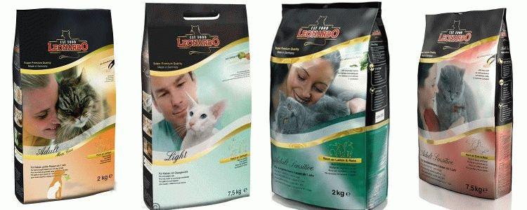 Відгуки про корм Leonardo для котів