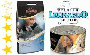 Корм Леонардо для котів відгуки