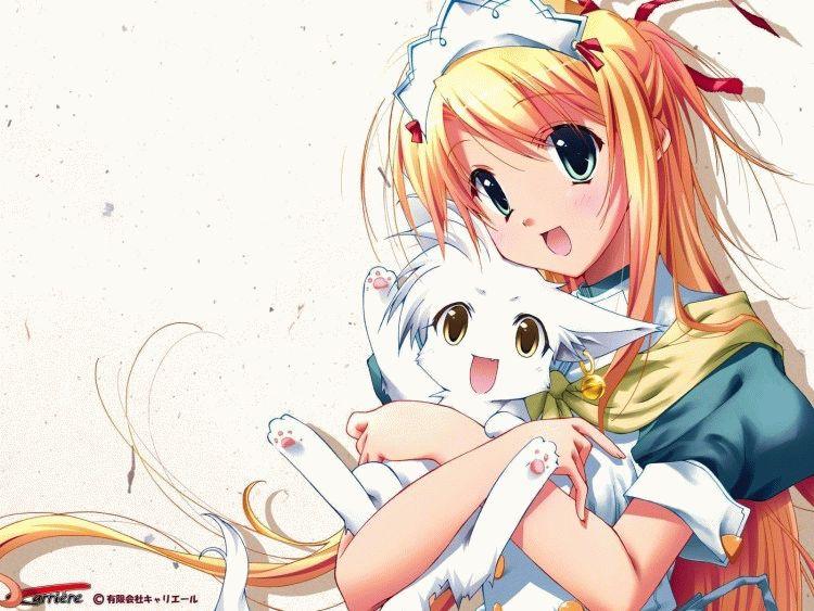Картинки аніме кішка 5