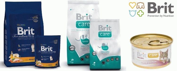 Корм для котів Brit відгуки