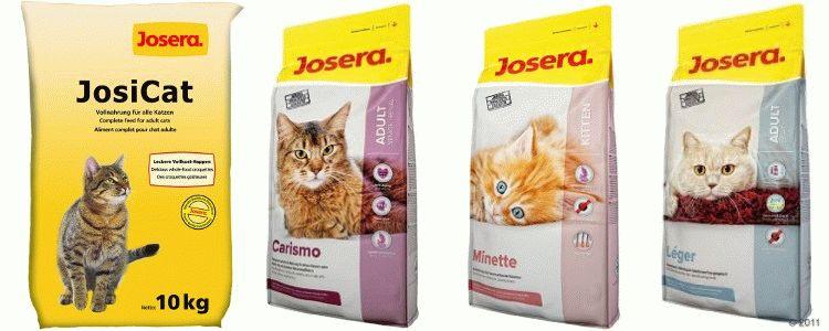 Відгуки про корм Josera для котів