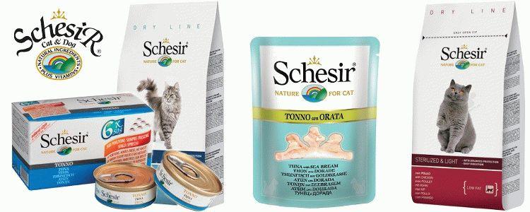 Відгуки про корм Schesir для котів