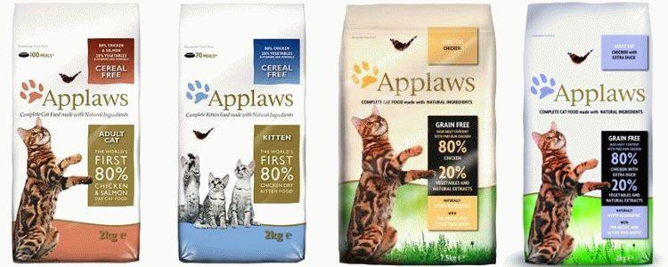 Відгуки про Applaws корм для котів