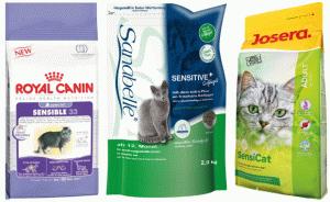 Корм для котів з проблемами травлення