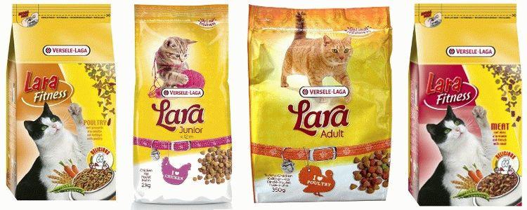 Корм для котів Lara відгуки