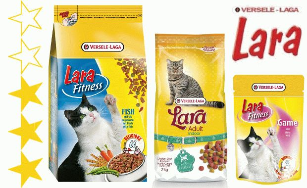 Корм для котів Lara