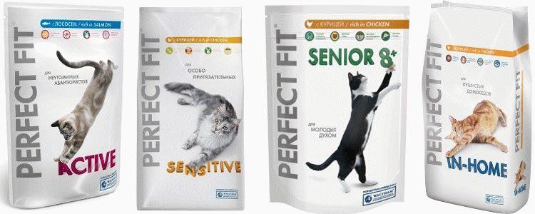 Корм для котів Perfect Fit відгуки