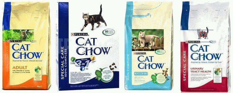 Корм Cat Chow для котів відгуки