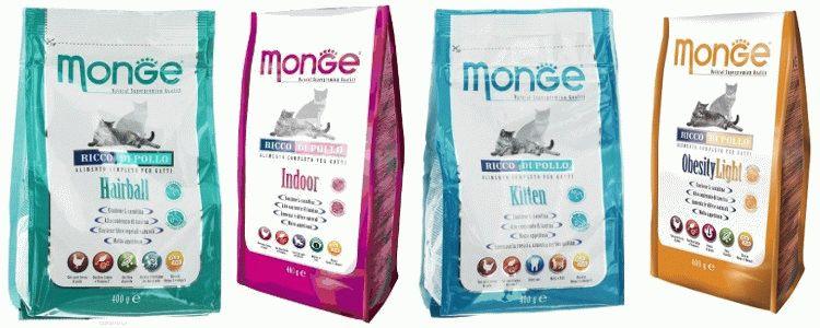 Корм Monge для котів відгуки