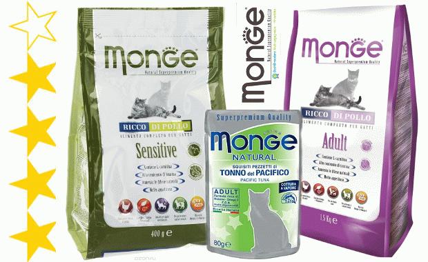 Корм Monge для котів